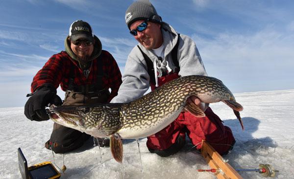 Edlund_late-ice-pike-catch