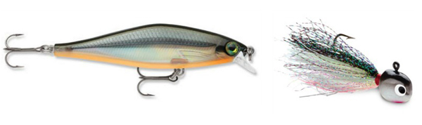 Joel Nelson - VMC Hot Skirt Glow Jig and Rapala Shadow Rap Shad