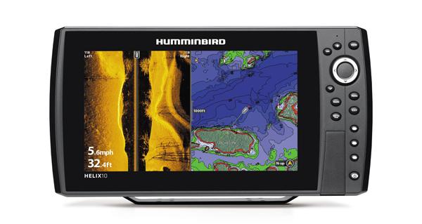 humminbird helix 10 icast target walleye 160720