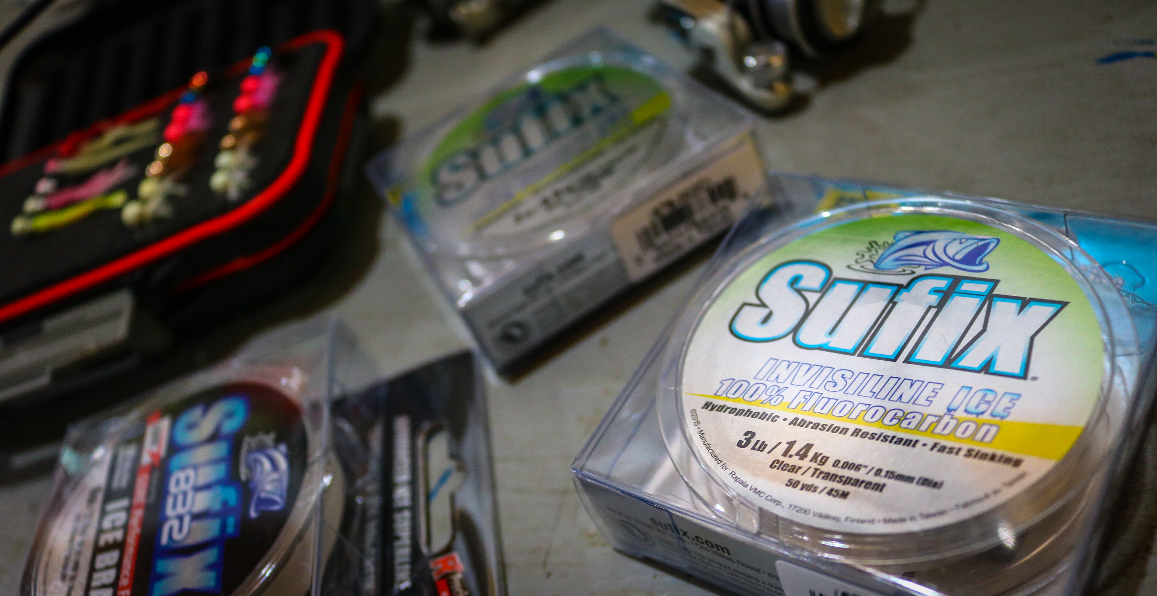 Choosing the best ice fishing line for panfish target for Ice fishing line