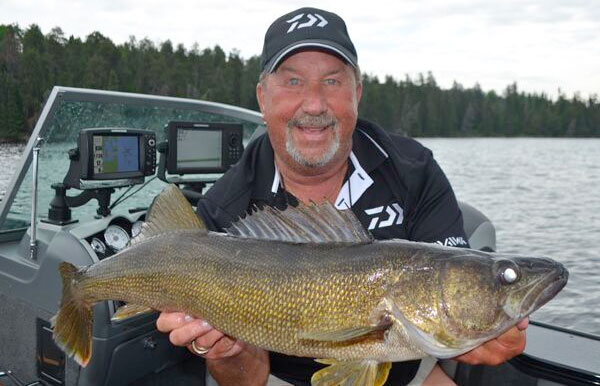 When mono is better than braid target walleye for Best fishing line for walleye